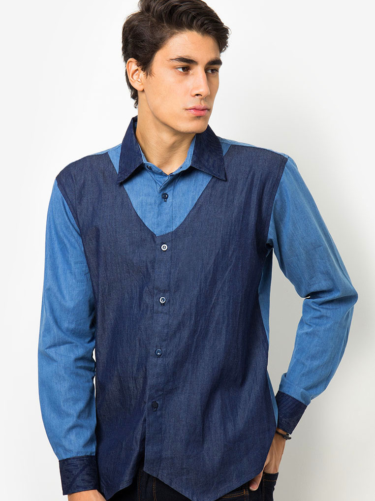 Malik Shirt [Dark Blue]